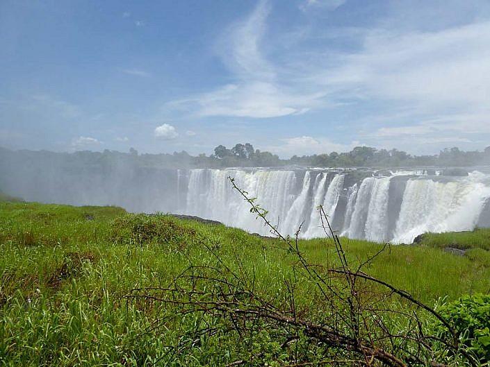 Victoria Fälle in Simbabwe.