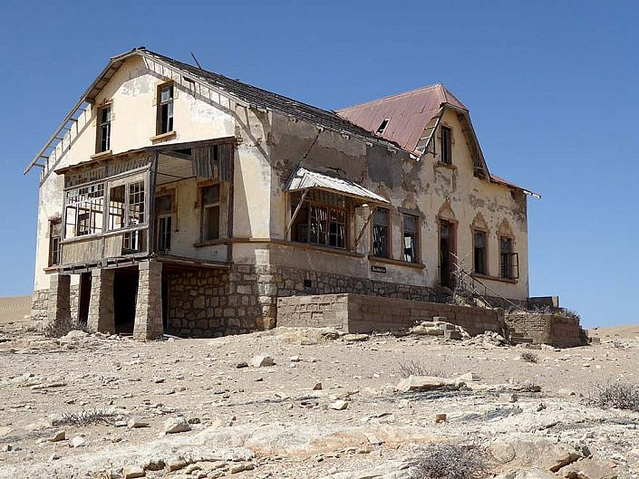 Geisterstadt Kolmanskuppe. Lüderitz.
