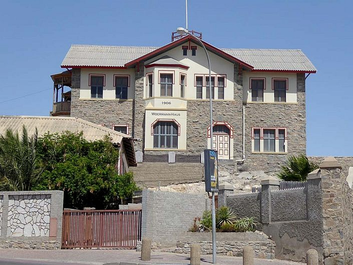 Woermann Haus in Lüderitz