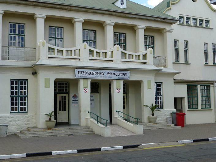 Bahnhofsgebäude in Windhoek