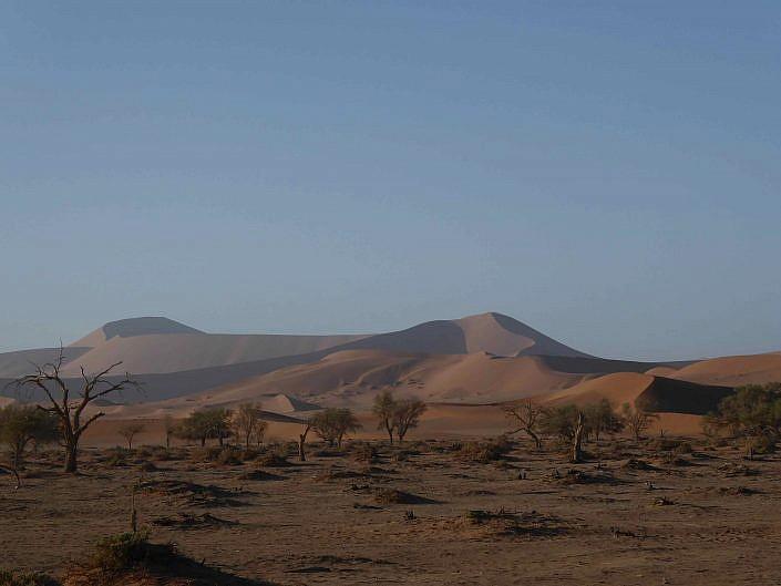 In der Deavdlei. Namibia Sossusvlei.