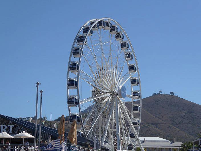 Riesenrad an der Waterfront. Kapstadt