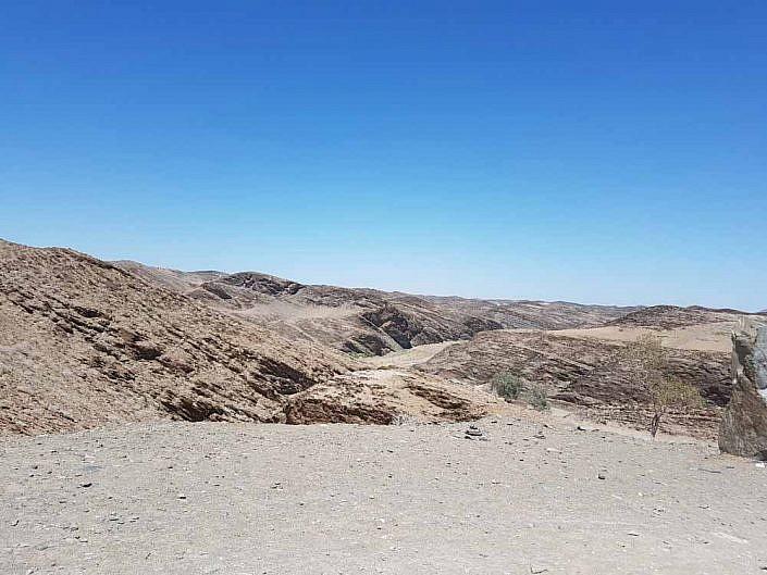 Auf dem Weg in die Sossusvlei. Namibia