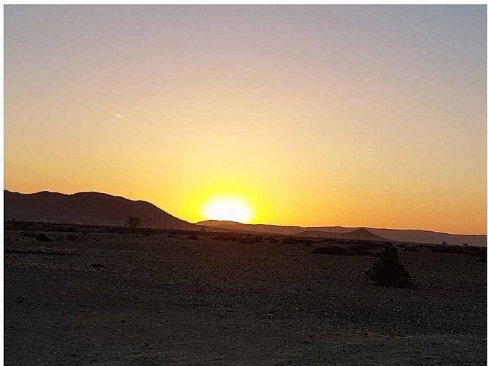 Die höchsten Dünen der Welt. Sossusvlei Sessrim.