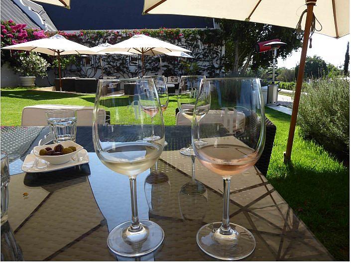 Weinprobe Stellenbosch.