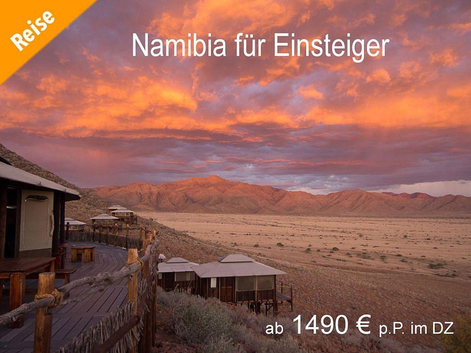 Namibia für Einsteiger