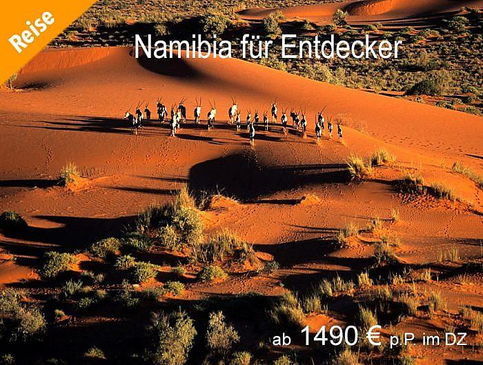 14 Tage Namibia Reise