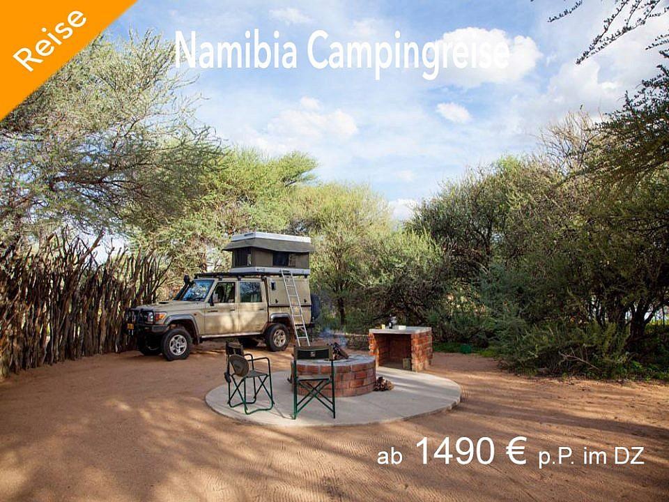 Namibia Campingreise