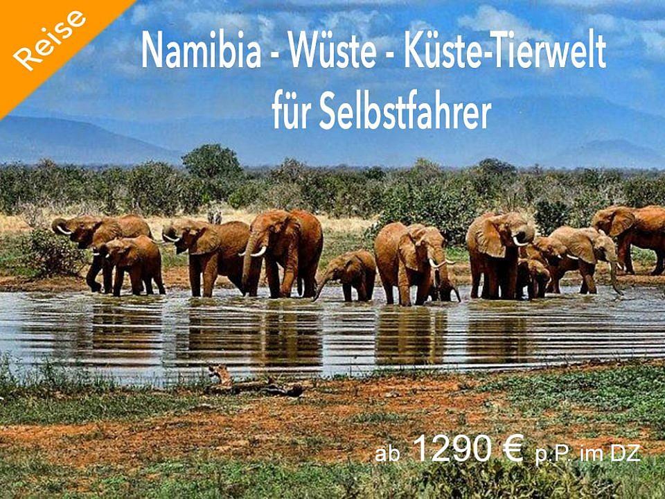Namibia Reise. 14 Tage Spezial